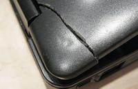 Ремонт трещин верхней крышки корпуса ноутбука