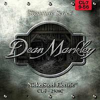 Струны Dean Markley 2508C Nickel Steel 7-String 9-56 Signature