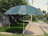 Пляжный торговый зонт с серебристым напылением 3 м, фото 1