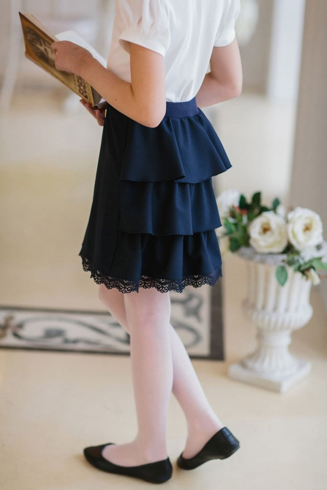 Юбки школьные для девочки в магазине малява