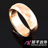 Кольцо обручальное позолоченное 0,6
