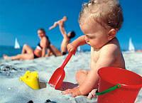 На пляже с малышом. В какие игры играть?