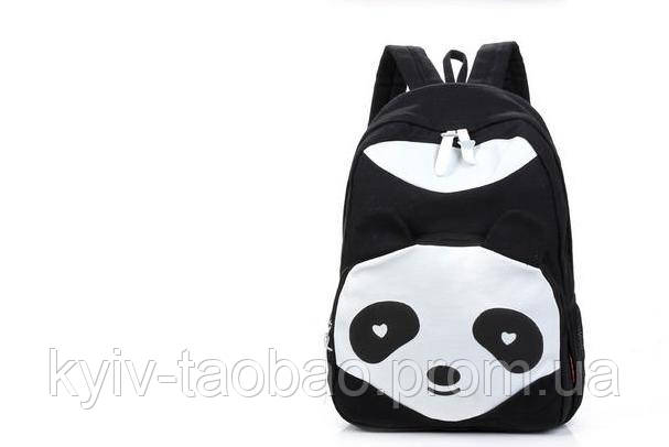 Рюкзак панда разных цветов в аниме стиле