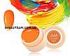 Гель-краска Canni 568 ярко-оранжевая