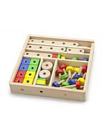 Деревянный конструктор Viga Toys, деревянный конструктор для мальчиков