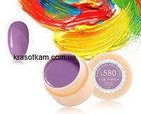 Гель-краска Canni 580 пастельно-лиловая