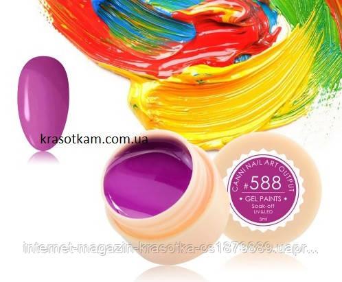 Гель-краска Canni 588 фуксия