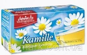 Чай ромашковый WESTMINSTER  «Kamille Wohltuender Tea», 25 шт.,37,5 г.