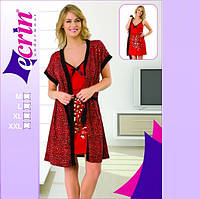 Комплект Домашний халат и ночная рубашка Т 776333