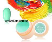 Гель-краска Canni 606 светло-бирюзовая