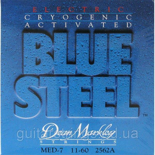 Струны Dean Markley 2562A Blue Steel 7-String 11-60