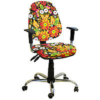 Кресло детское  Бридж хром дизайн Украинский стиль 7