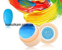 Гель-краска Canni 611 сине-голубая