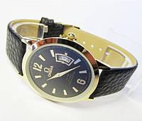 Мужские ультратонкие часы Omega с японским механизмом, фото 1