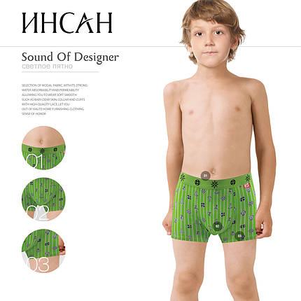 Подростковые стрейчевые  шорты на мальчика МАРКА «ИНСАН»  Арт.INS-653, фото 2