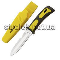 Нож для дайвинга с резиновой рукоятью
