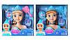 Кукла Холодное сердце (Frozen) голова для экспериментов причесок. Уценка!
