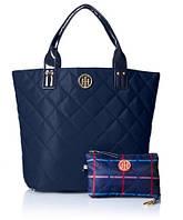 Сумка и кошелек Tommy Hilfiger Quilted Shopper Bag. Оригинал из США.