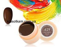 Гель-краска Canni 629 коричневая