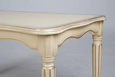 Стол журнальный Венецианский Микс мебель, цвет  слоновая кость с патиной, фото 3