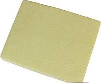 Наматрасник простынь на резинке махровая Зеленая 90х200 - Польша
