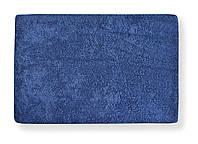 Наматрасник простынь на резинке махровая Темно синяя 90х200 - Польша