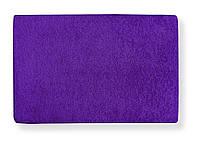 Наматрасник простынь на резинке махровая Фиолетовая 90х200 - Польша