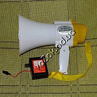 Мегафон громкоговоритель рупор орало модель JS-5S с аккумулятором и записью, фото 1