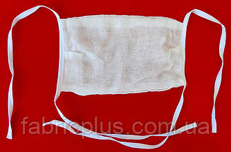 Марлевая повязка четырехслойная