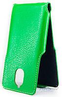 Чехол Status Side Flip Series Lenovo Vibe K5 Note Green