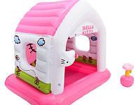 "Детский игровой центр манеж ""Домик Hello Kitty"" Intex 48631, фото 1"