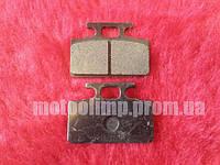 Тормозные колодки №2 под дисковый тормоз питбайк YX- 125, 140, 155