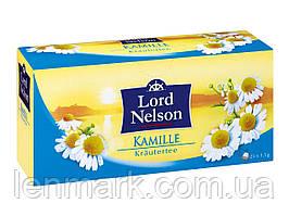Чай ромашковый Lord Nelson  «Kamille Krautertee», 25 шт, 37,5 г.