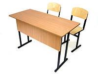 Ремонт парты и школьных стульев – не покупаем новое: меняем столешницы и фанеру на стульях.