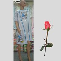 Женский халат в комплекте с ночной рубашкой Т  777101