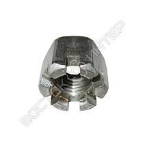 Гайки прорезные М16 ГОСТ 5918-73 | Размеры, вес, фото 2