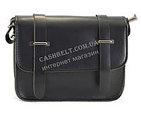 Оригинальная женская сумка-клатч в форме патронташа черного цвета Б/Н art. 1001