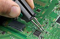 Замена микросхемы интегрированного видеоадаптера на материнской плате ноутбука, без учета стоимости детали