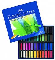 Набор сухой мягкой пастели Goldfaber 48 цветов 35 мм Faber-Castell