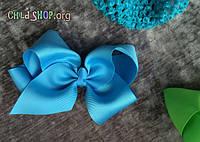 Повязка на голову для девочек плетеная с большим бантом / Код клиента HYS25-10#