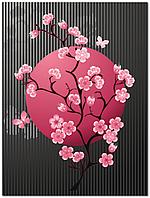 Панно кафель на стены, Япония плитка 20х30см.