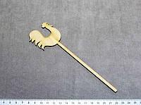 ЗП-0123  Петушок на палочке 18*5см