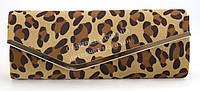 Овальный клатч с интересным принтом в виде леопарда и низкой ценой ROSE HEART art. 102146-2
