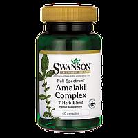 Амалаки полного спектра, антиоксидант, Swanson 60 капсул