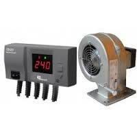 Вентилятор і автоматика котла DP02+CS20