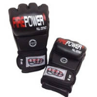 Перчатки для ММА Кожа