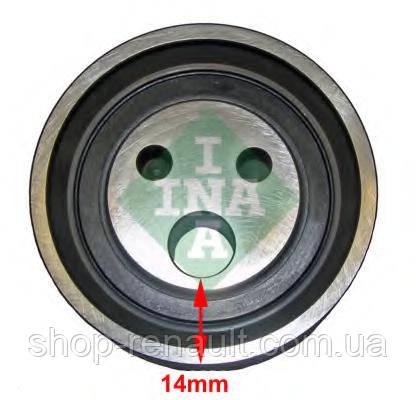 Ролик ГРМ (натяжной) Logan 1.4/1.6 INA, 531 0818 10