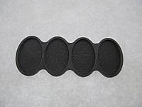 Органайзер для набора бисера, 4 шт. на палитре. Размер общий 102 х 39 мм., фото 1