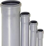 Труба из ПВХ для внутренней канализации 75x2,5x1000