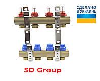 Коллектор SD Group на 9 выходов без расходомеров